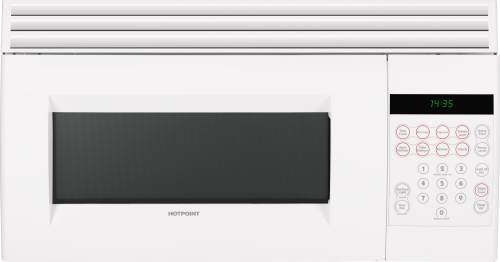 Ge RVM1535DMWW Hotpoint Microwave Oven Over-The-Range White (Ge Hot Point Oven Parts compare prices)