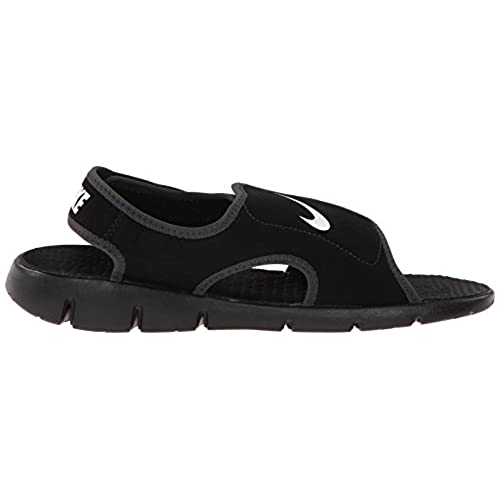 Nike Sunray Adjust 4 (GS/PS), Tongs Garçon, Rose, 3.5UK/23.0cm