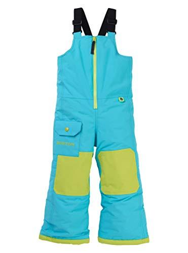 Burton Kids & Baby Toddler Maven Bib, Blue Curaçao, 3T Blue Kids Snowboard Boots