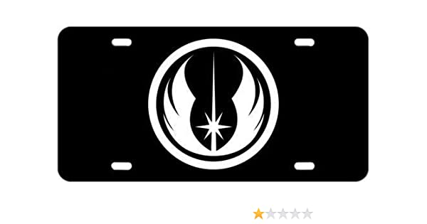 ATD Jedi Order Novelty License Plate Decorative Vanity Aluminum Sign