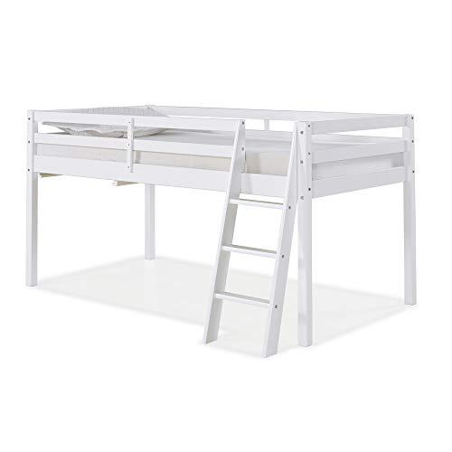 Alaterre AJRX10WHA Roxy Twin Junior Loft Bed, White