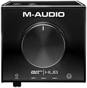 M-Audio AIRXHUBXEU USB Monitoring Interface with Built-In 3-