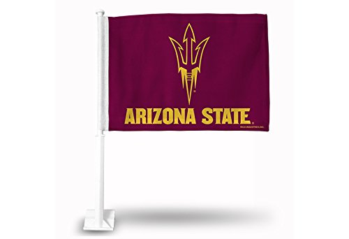 NCAA Arizona State Sun Devils Car Flag