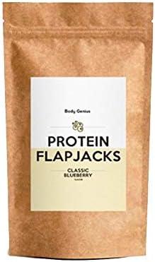 BODY GENIUS Protein Flapjacks (Arándanos). 500g. Preparado ...