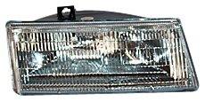 TYC 20-1960-00 Dodge Passenger Side Headlight Assembly