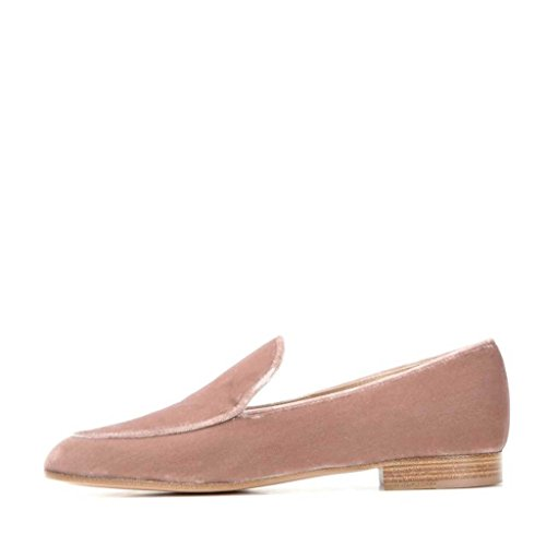 US Shoes On Suede 9 Loafers Size Flats Nancy Fashion Men Casual Jayjii Slip Peach zxUYOgx
