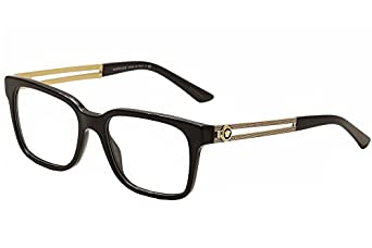 Versace Red Frame Glasses : Amazon.com: Versace VE 3218 Eyeglasses GB1 Black: Clothing