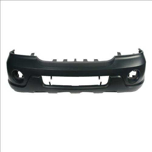 CarPartsDepot, Front Bumper Cover Primed Black Plastic, 352-30749-10 FO1000525 2L7Z17D957EAA