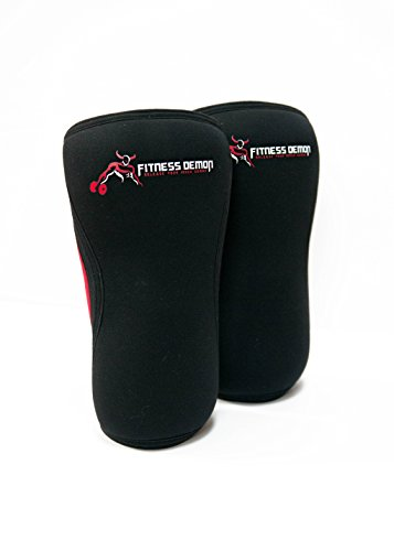 Fitness Demon 7mm Knee Compression Brace Non Slip