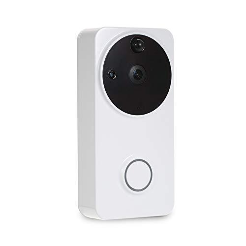 Timbre inteligente 720P Cámara HD Monitor de seguridad WiFi Monitoreo en tiempo real Llamada y video Soporte de visión...