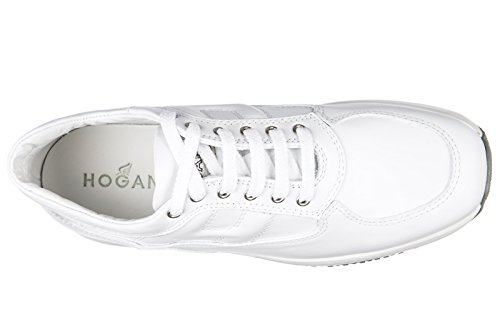 Hogan BabyschuheSneakers Kinder Baby Schuhe Mädchen Leder Turnschuhe interactiv