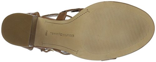 Heeled Women''s Hilfiger Pierpont Tan Sandal Tommy WqwnF0H4Wv