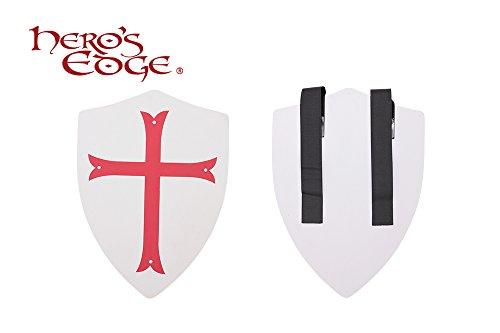 Crusader Cross Foam Shield for Cosplay and Larp (Medieval Foam Larp Shield)