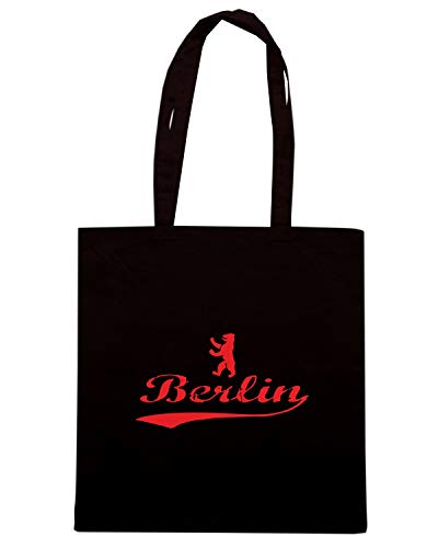 Shirt TSTEM0141 BERLIN Shopper Borsa BEAR Speed Nera SxdpPqn7w