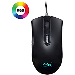 1 of HyperX Pulsefire Core - RGB Gaming Mouse, Software Controlled RGB Light Effects & Macro Customization, Pixart 3327 Sensor up to 6,200DPI, ...