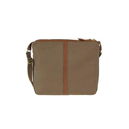 Fossil ERIN CROSSBODY Braun-Pink ZB5470-200 Damen Handtasche Hand Schulter Tasche Umhängetasche Schultertasche