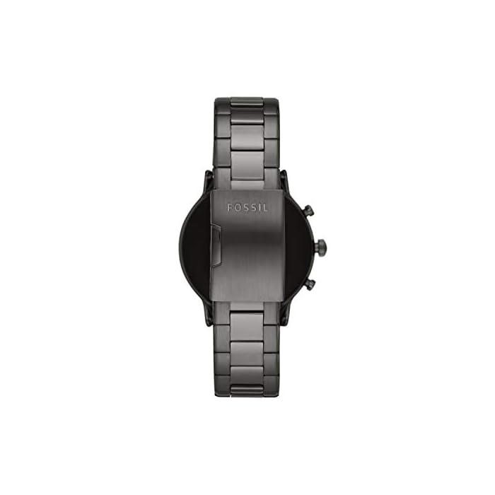31eo3ZGH34L Los smartwatches que funcionan con la tecnología WearOS by Google funcionan con teléfonos iPhoneⓇ¹ y Android Funciona varios días con una única carga en modo de batería ampliada. Seguimiento de actividad y frecuencia cardíaca, GPS incorporado para seguimiento de distancias, diseño apto para nadar