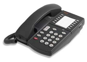 Avaya Corded Phone - Avaya 6221 Corded Telephone -Gray