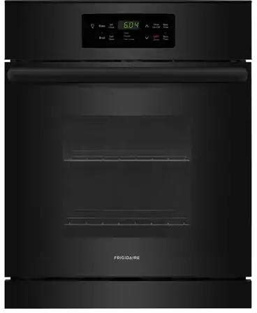 Frigidaire FFEW2426UB 24 Inch 3.3 cu. ft. Total Capacity Electric Single Wall Oven in Black