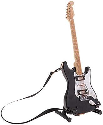 Amazon.es: KESOTO Modelo de Guitarra en Miniatura 1/6 - Decoración ...