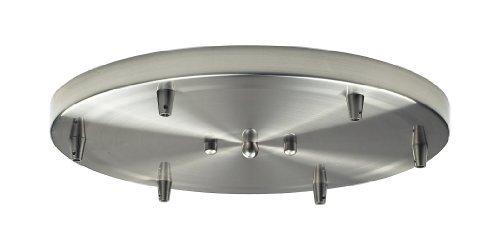 Elk 6R-SN 6-Light Round Pan In Satin Nickel by ()