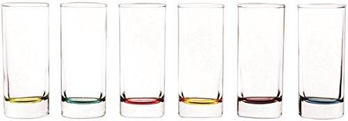 Circleware Lexington Multi colored Glassware Drinkware