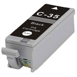 SuppliesOutlet Canon PGI-35B Compatible Ink Cartridge - Black - [1 Pack] For Pixma iP100
