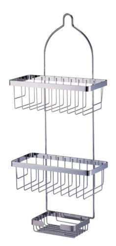 Durable and Casual Metal Shower Caddy Bathroom - Sale Debenhams Curtains