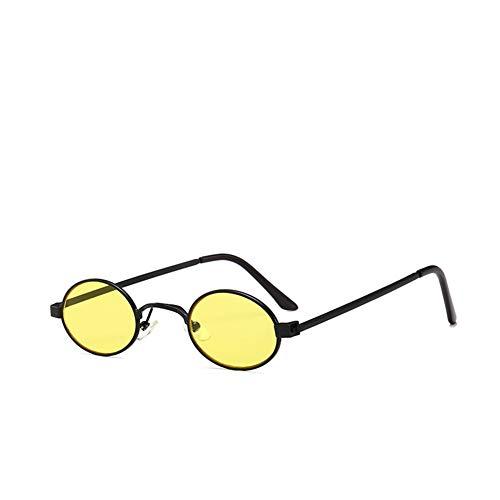 NIFG gafas del 30m 110 de de sol la Gafas marco de redondo pequeñas las sol multicolora m personalidad de 140 F ultraligeras qwFqvxr