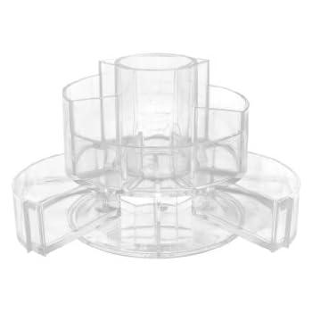 Amazon Com Soho Expandable Cylinder Vanity Acrylic