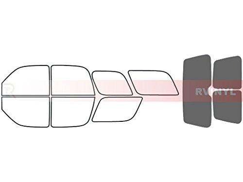 Rtint Window Tint Kit for Cadillac Escalade 2002-2006 - Rear Windshield Kit - 35%