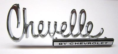 Amazon Com The Parts Place Chevelle Trunk Emblem Oem By