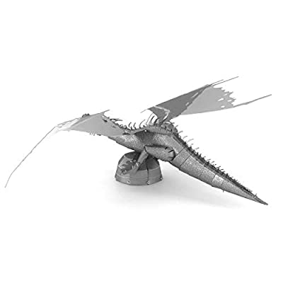 Metal Earth Fascinations Harry Potter Gringotts Dragon 3D Metal Model Kit: Toys & Games