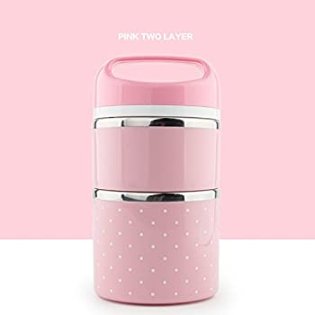 bento lunch box containers mr dakai portable insulated leakproof stainless steel. Black Bedroom Furniture Sets. Home Design Ideas