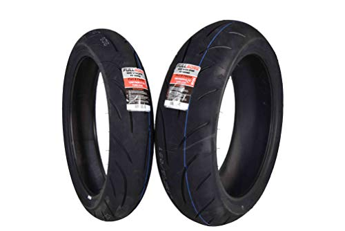 - Full Bore Super Bike F2 Tire set (1 Front 120/70ZR17 & 1 Rear 180/55ZR17) tires pair 120/70-17 180/55-17