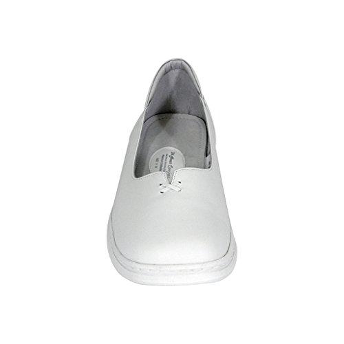 24 Hour Comfort  Kallie (1024) Women Wide Width Comfort Slip-On Shoes White 10.5 by 24 Hour Comfort (Image #2)