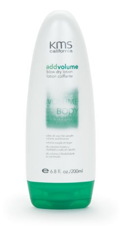 Add Volume Blow Dry Lotion Unisex by KMS, 6.8 Ounce