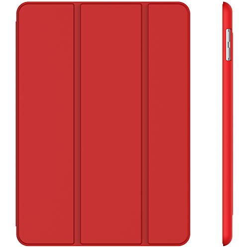 JETech Case for iPad (9.7-Inch, 2018/2017 Model, 6th/5th Generation), Smart Cover Auto Wake/Sleep, - Apple Red Case Ipad