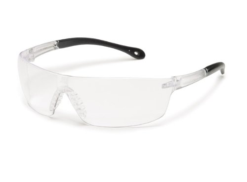 (Gateway Safety 4479 StarLite Squared Ultra-Light Safety Glasses, Clear Anti-Fog Lens, Clear Temple (Pack of 10))