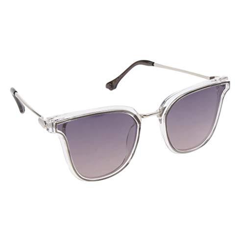 Eye Cat Femmes Soleil Style Hommes Lunettes violet gris Polarisées de Homyl xpEwWqIY0p