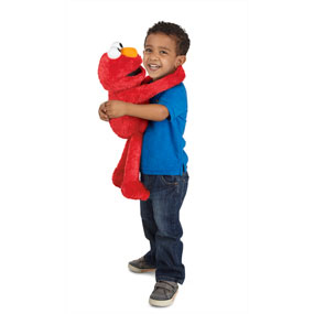 Hug, sing and imagine with Elmo!