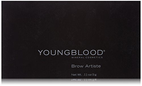 Youngblood Brow Artiste Kit, Auburn, 3 Gram