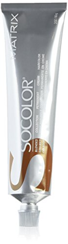 Matrix Socolor Permanent Cream Hair Color, Light Brown Neutral, 3 Ounce
