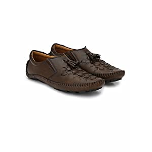Prolific Men's Casual Woven Drving Loafers