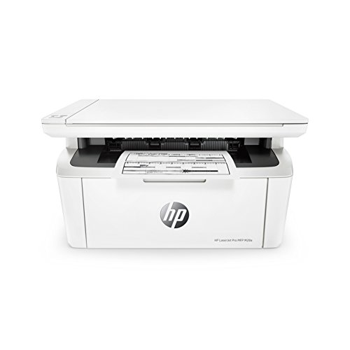 HP W2G54A#B19 LaserJet Pro MFP M28a Multi-Function Printer, White