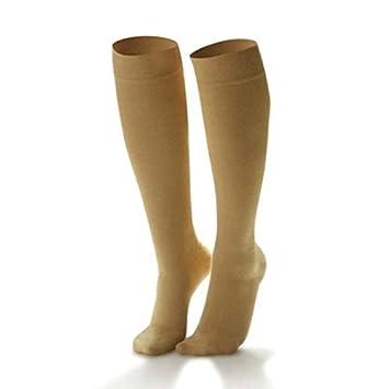 Dr Comfort 15-20 Compression Nylon Fashion Knee High Trouser Socks for Women