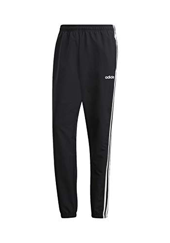 adidas Herren E 3S Wind PNT Sport Trousers, Black/White, XS/S