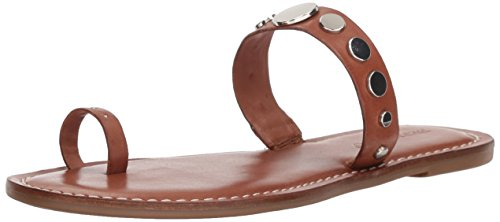 Bernardo Women's Mattie Flat Sandal, Luggage Antique Calf, 7.5M M US