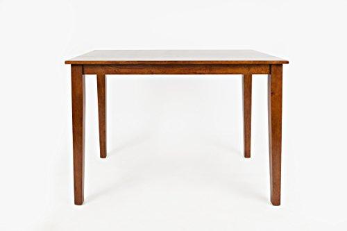 "Jofran 452-54 Simplicity Counter Height Dining Table Caramel 32"" W X 54"" D X 36"" H, Finish, (Set of 1)"