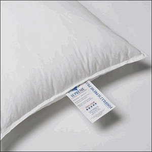 FOSSFILL FOSSGUARD PILLOW - JS Fiber Fossfill® FossguardTM Hospitality Supreme Pillow Standard 21x27, 24 Oz. Fill (Set of 2) = Ships within 1-3 business days unless there is a problem.